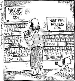 comic strip nature vs. nurture