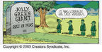 Comic Strip Dave Coverly  Speed Bump 2003-04-06 burial