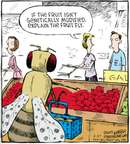 Comic Strip Dave Coverly  Speed Bump 2009-06-27 fruit
