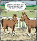 Comic Strip Dave Coverly  Speed Bump 2009-10-03 horse race