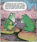 Comic Strip Dave Coverly  Speed Bump 2009-10-21 marketing