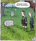 Comic Strip Dave Coverly  Speed Bump 2010-08-11 grave