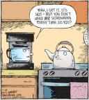Comic Strip Dave Coverly  Speed Bump 2010-10-28 heat