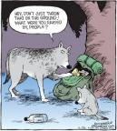 Comic Strip Dave Coverly  Speed Bump 2010-11-25 rearing