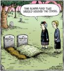 Comic Strip Dave Coverly  Speed Bump 2011-08-19 burial