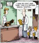 Comic Strip Dave Coverly  Speed Bump 2011-08-22 veterinary