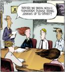 Comic Strip Dave Coverly  Speed Bump 2011-12-12 hair