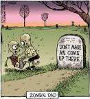 Comic Strip Dave Coverly  Speed Bump 2012-02-03 grave