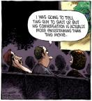 Comic Strip Dave Coverly  Speed Bump 2012-05-25 conversation
