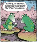 Comic Strip Dave Coverly  Speed Bump 2013-01-25 marketing