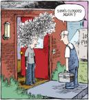 Comic Strip Dave Coverly  Speed Bump 2013-07-04 hair