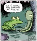 Comic Strip Dave Coverly  Speed Bump 2013-10-15 growing up