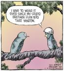 Comic Strip Dave Coverly  Speed Bump 2013-11-18 helmet