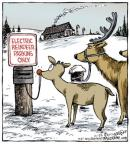 Comic Strip Dave Coverly  Speed Bump 2013-12-25 reindeer