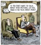 Comic Strip Dave Coverly  Speed Bump 2014-05-21 counselor