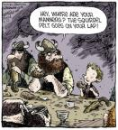 Comic Strip Dave Coverly  Speed Bump 2014-05-27 hat