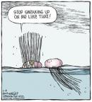 Comic Strip Dave Coverly  Speed Bump 2014-06-18 hair