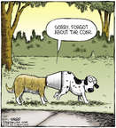 Comic Strip Dave Coverly  Speed Bump 2014-07-30 butt