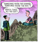 Comic Strip Dave Coverly  Speed Bump 2014-08-09 advice