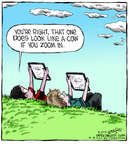 Comic Strip Dave Coverly  Speed Bump 2014-08-15 perspective