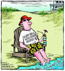 Comic Strip Dave Coverly  Speed Bump 2014-08-25 vacation relaxation