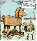 Comic Strip Dave Coverly  Speed Bump 2014-10-27 horse