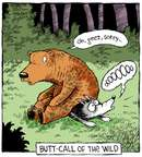Comic Strip Dave Coverly  Speed Bump 2014-12-02 butt