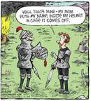 Comic Strip Dave Coverly  Speed Bump 2015-02-24 helmet