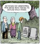 Comic Strip Dave Coverly  Speed Bump 2015-03-05 grave