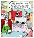 Comic Strip Dave Coverly  Speed Bump 2015-03-25 message