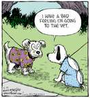 Comic Strip Dave Coverly  Speed Bump 2015-05-21 vet