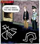 Comic Strip Dave Coverly  Speed Bump 2015-05-28 trick