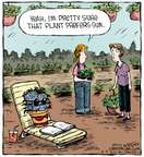 Comic Strip Dave Coverly  Speed Bump 2015-06-09 sunbathing