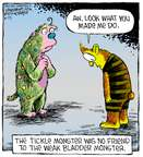 Comic Strip Dave Coverly  Speed Bump 2015-06-25 tickle