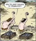 Comic Strip Dave Coverly  Speed Bump 2016-02-23 prehistoric