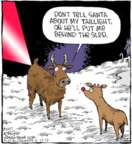 Comic Strip Dave Coverly  Speed Bump 2017-12-15 reindeer