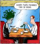 Comic Strip Dave Coverly  Speed Bump 2018-02-16 hair