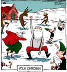 Comic Strip Dave Coverly  Speed Bump 2018-12-25 reindeer