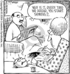 Comic Strip Dave Coverly  Speed Bump 2004-11-02 craft