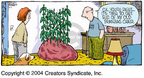 Comic Strip Dave Coverly  Speed Bump 2004-11-07 vegetation