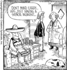 Comic Strip Dave Coverly  Speed Bump 2006-02-06 hat