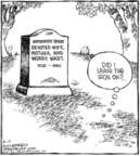 Comic Strip Dave Coverly  Speed Bump 2006-08-19 burial