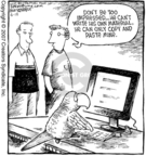 Comic Strip Dave Coverly  Speed Bump 2007-05-12 bird