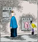 Comic Strip Dave Coverly  Speed Bump 2007-10-25 ATM
