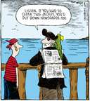 Comic Strip Dave Coverly  Speed Bump 2008-05-26 bird