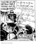 Comic Strip John Deering  Strange Brew 2007-11-30 math