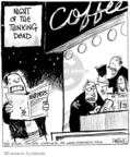 Comic Strip John Deering  Strange Brew 2008-03-01 coffee