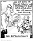 Comic Strip John Deering  Strange Brew 2008-03-25 coffee