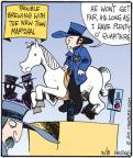 Comic Strip John Deering  Strange Brew 2011-03-08 quarter horse
