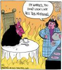 Comic Strip John Deering  Strange Brew 2012-12-07 Lucifer